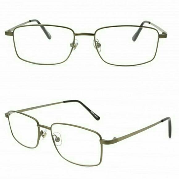9fa42beabb Magnivision Tech Men s Titanium Reading Glasses